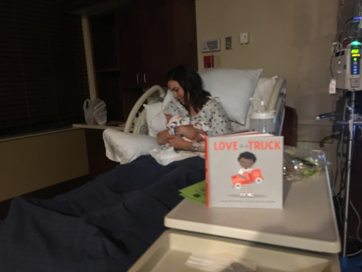 hospital with book